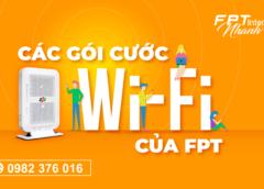 Lắp wifi FPT tại Ninh Bình khuyến mại năm 2021
